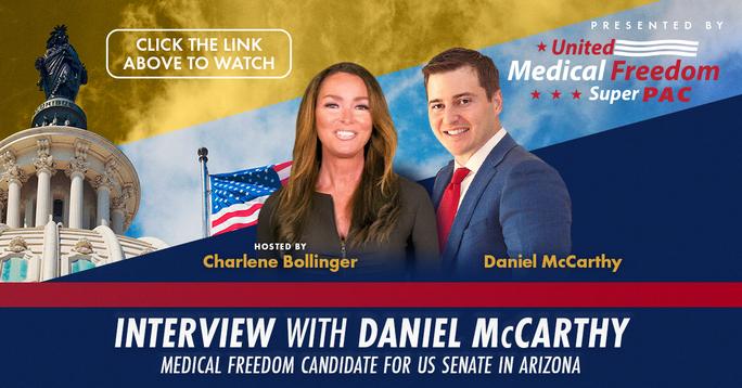 Medical Freedom Candidate: DANIEL MCCARTHY