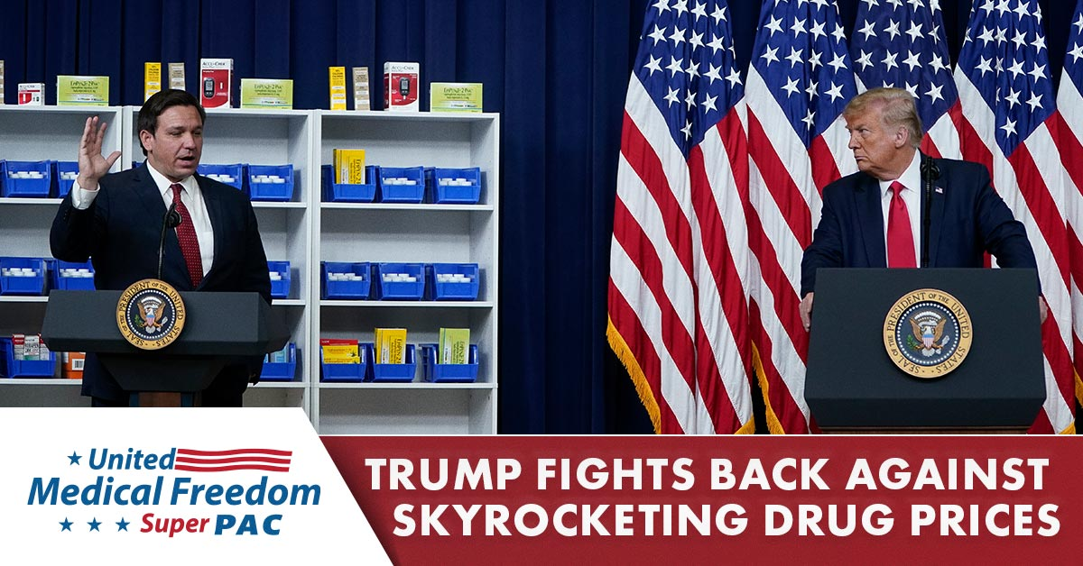 Trump Fights Back Against Skyrocketing Drug Prices