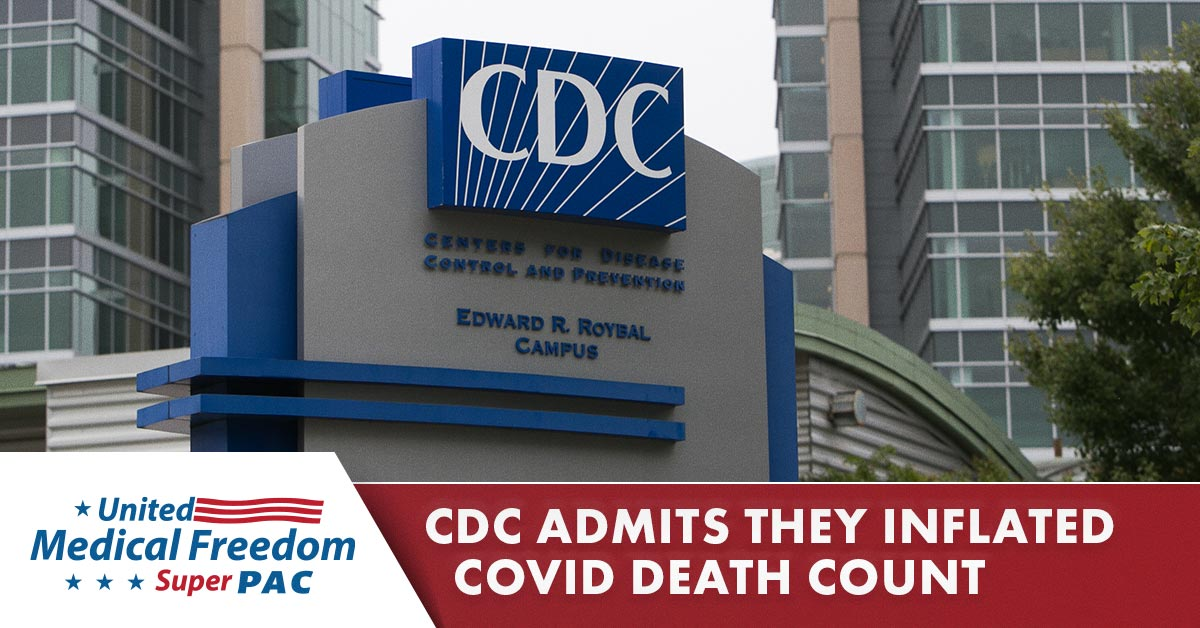CDC Admits to Inflating COVID Death Count