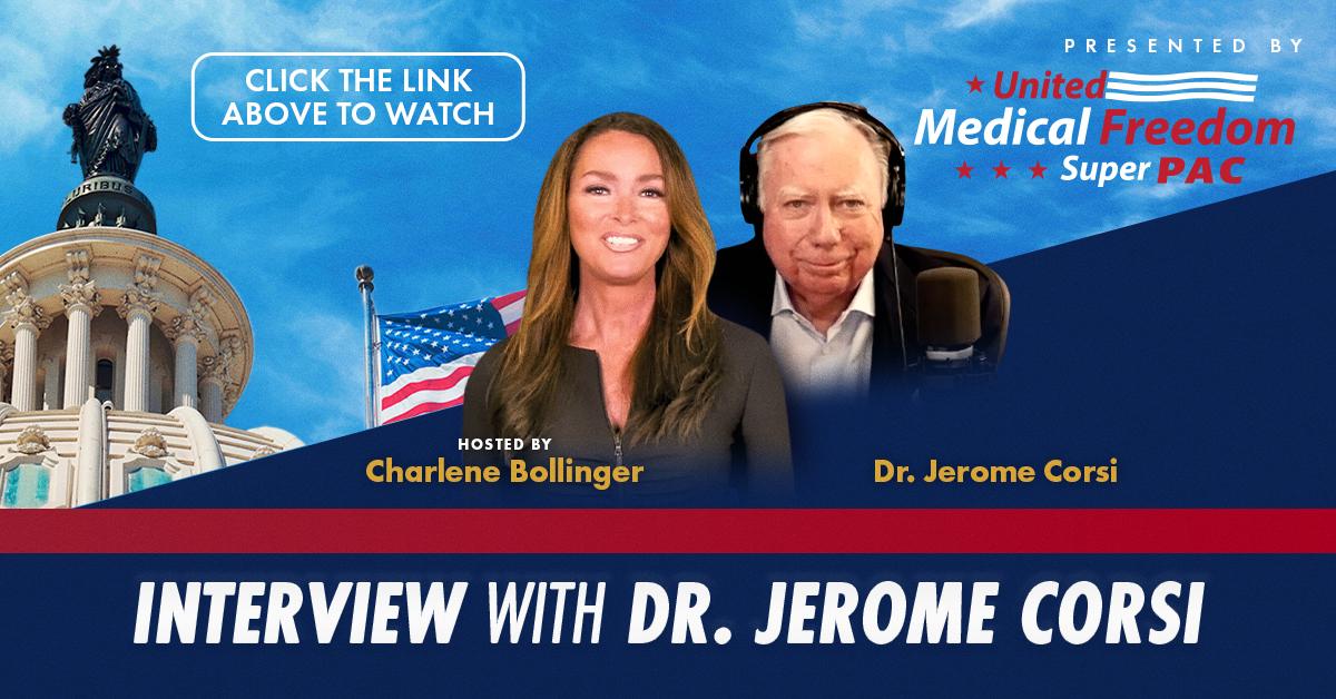 Charlene Bollinger interviews Dr. Jerome Corsi