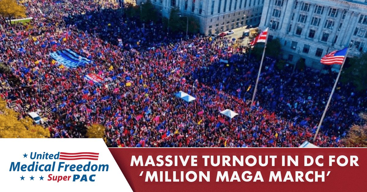 MASSIVE Turnout in DC for 'Million MAGA March'