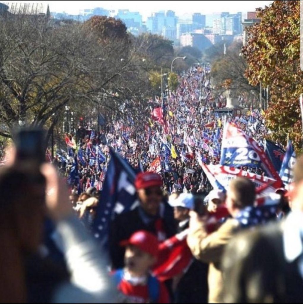 Million MAGA March Crowds